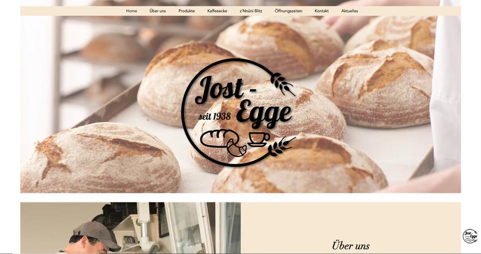 webdesign in bösingen für jost egge