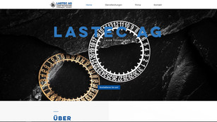 webdesign in brügg für die firma lastec