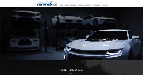 webdesign homepage erstellung für carrosserie waber uetendorf