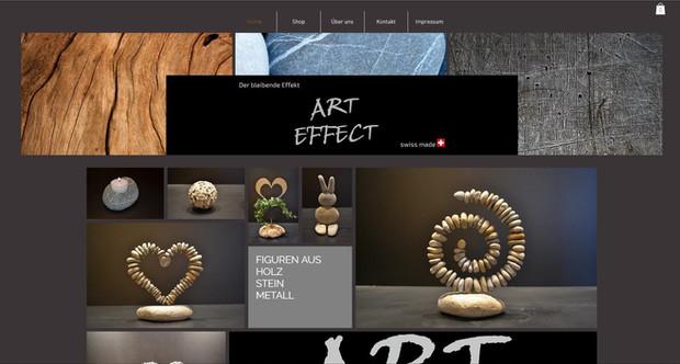 online shop art effect