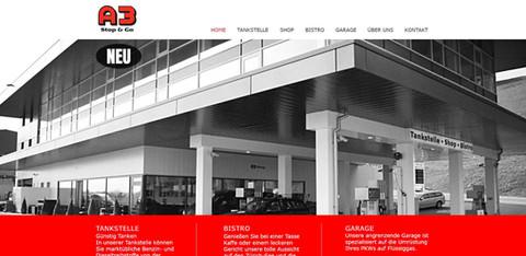 webdesign in horgen zürich für a3 stop and go