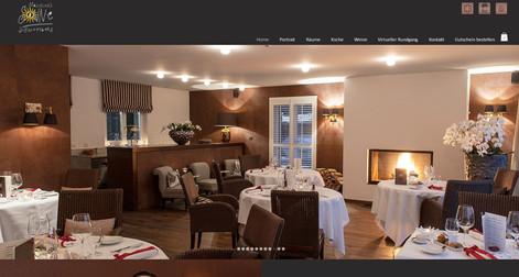 webdesign fuer gourmet restaurant moeschs sonne scheunenberg