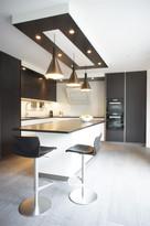 cuisine noir et blanc