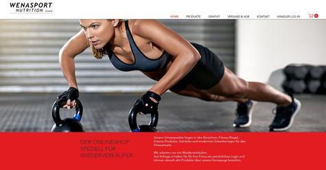 wenasport_onlineshop_erstellung_für_fitness