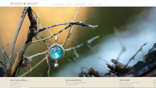 webdesign in bern für puctum aureum goldschmiede