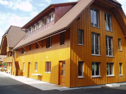Holzfassade Neubau