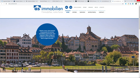 webdesign pour agence immobilier as immobilien