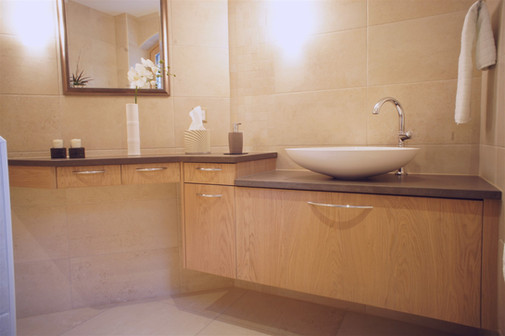salle de bain frêne