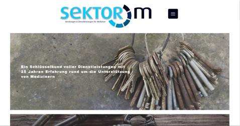 webdesign für sektor m