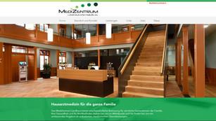 webdesign für medizentrum steffisburg