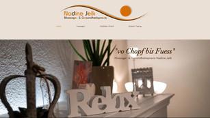 webseiten und logo erstellung in tafers für jelk massage sensebezirk
