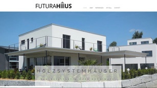 webdesign und logo für futura haus ag in frauenkappelen bern