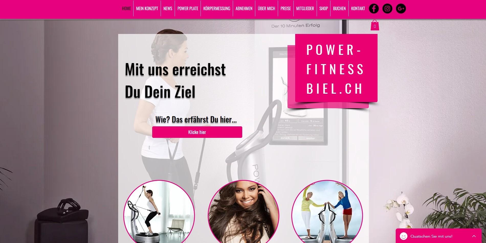 homepage_für_power_fitness_biel