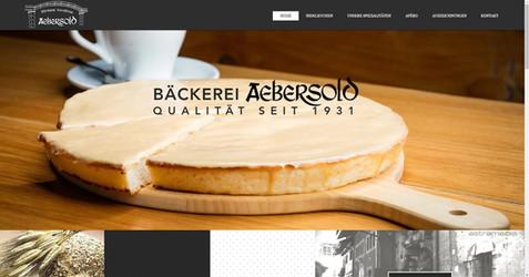 webdesign in murten für die bäckerei aebersold murten