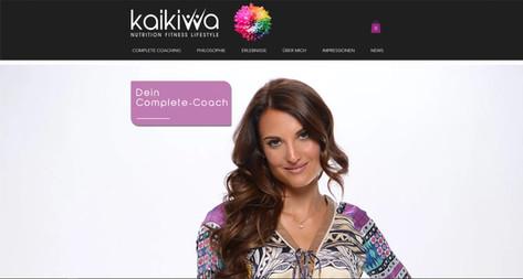 webdesign fuer kaikiwa complete coaching