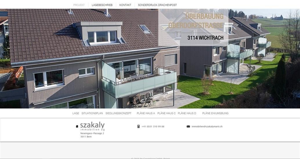 projektseite immobilien in wichtracht