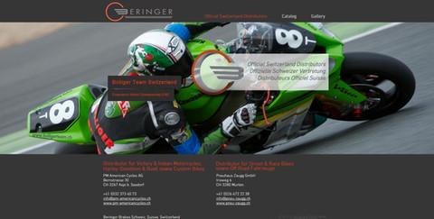 homepage erstellung für beringer brakes schweiz