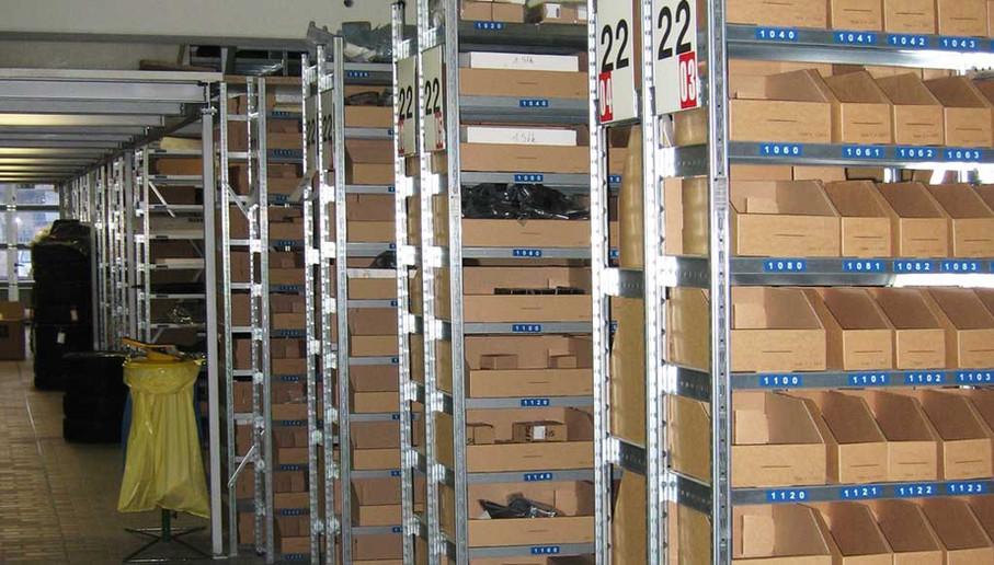 Rayonnage de stockage
