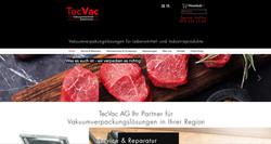 tecvac_webseite_für_vakuumgeräte_und_zubehör_mit_onlineshop