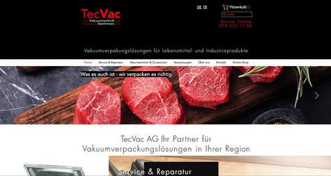 tecvac webseite