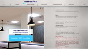 webdesign in lyss für die praxis walk-in-lyss