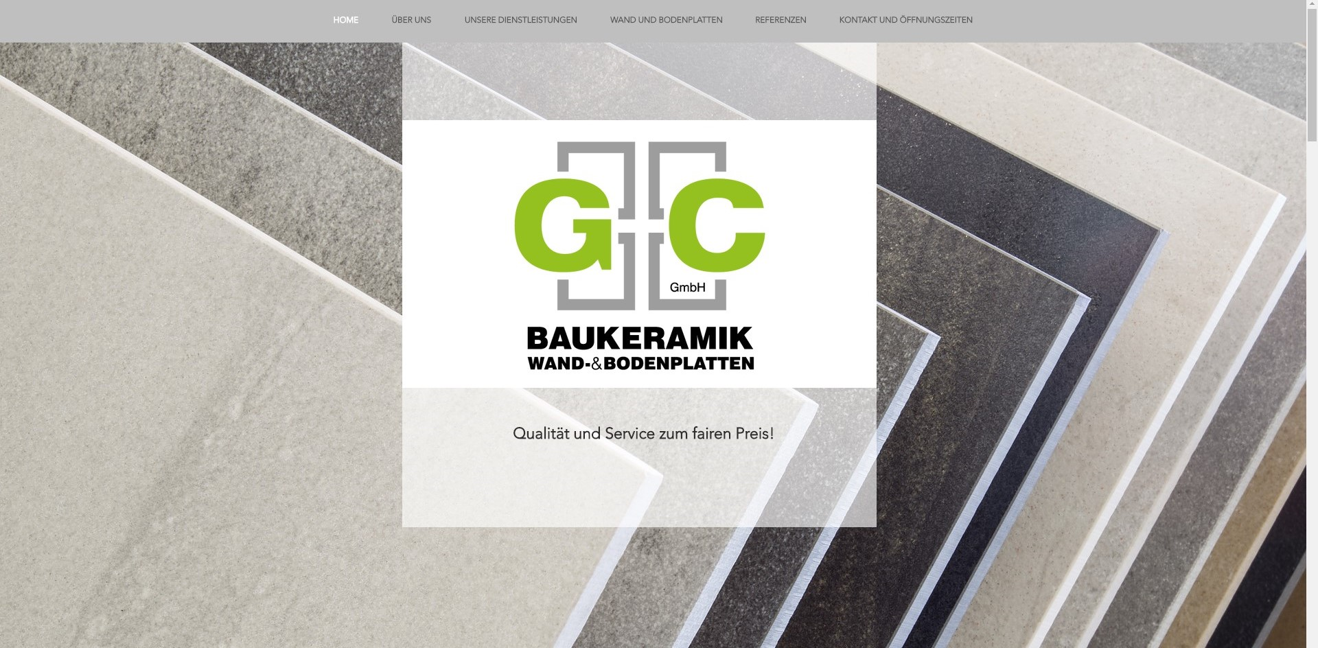 gc baukeramik aegerten webseite durch googplace