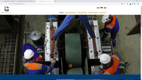 webdesign pour sg maintenance cornaux