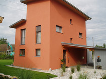 Fassade Neubau