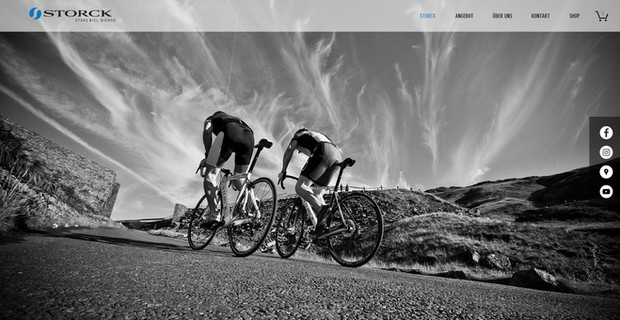 webdesign in ipsach für storck bike suisse mit webshop