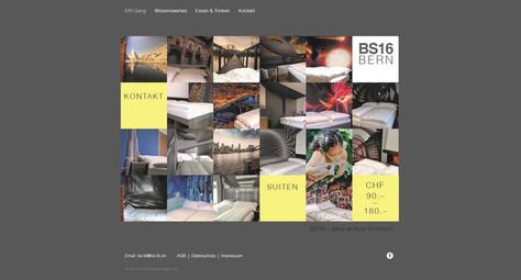 webseite fuer hotel mit buchungsanbindung fuer bs16 in schuepfen bei bern