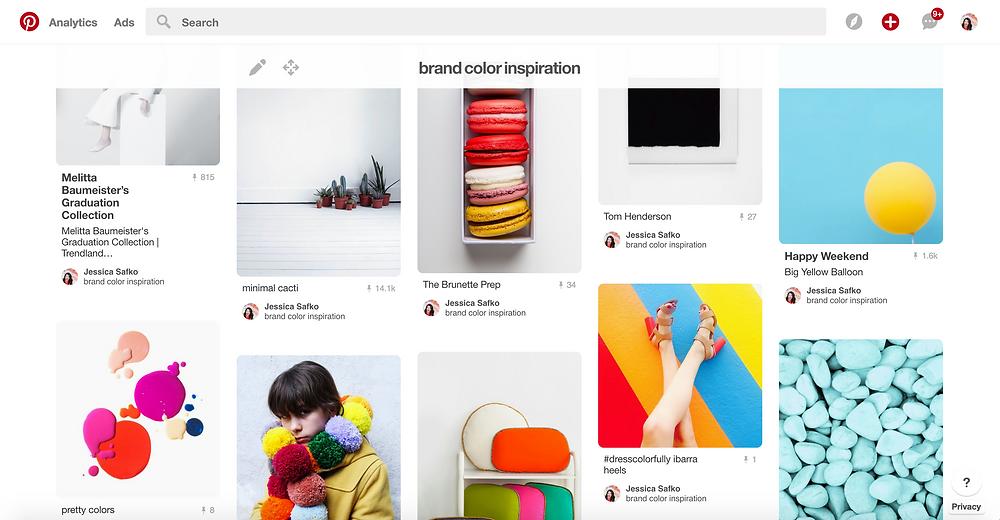 Pinterest Boards For Color Inspiration