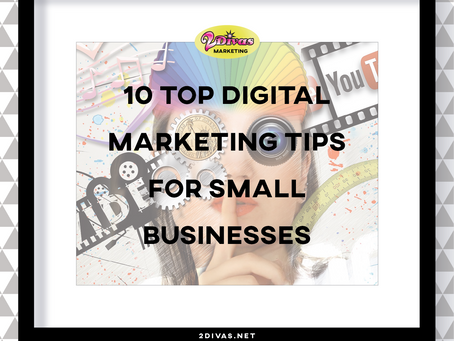 10 top digital marketing tips for small businesses