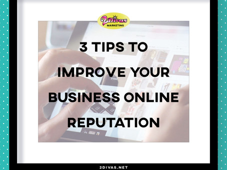3 Tips To Improve Your Business Online Reputation