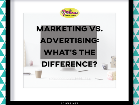 Marketing vs. advertising: What's the difference?