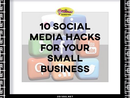 10 Social Media Hacks For Your Business [infographic]