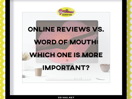 Online Reviews vs. Word of Mouth: Which One Is More Important?