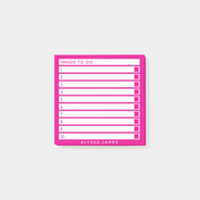 To Do List Post-it Notes