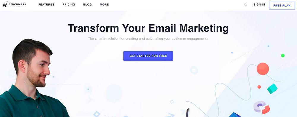Benchmark e-mail marketing