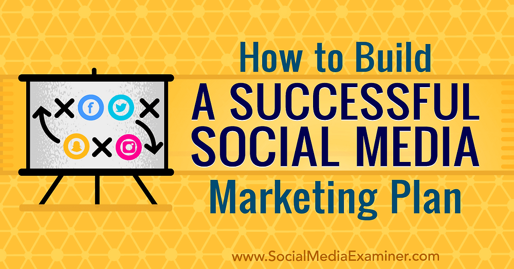 How to build a successful social media marketing plan