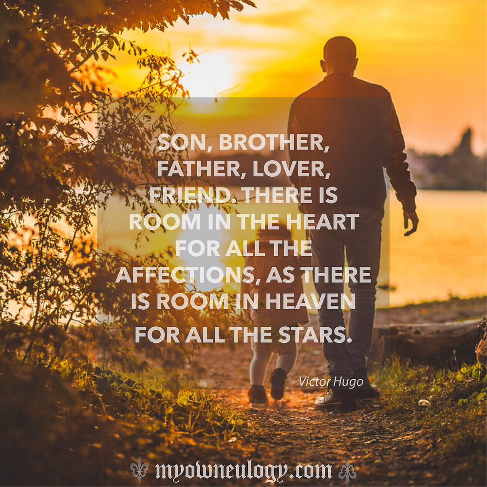 Quote of the day-Father's day by @MyOwnEulogy