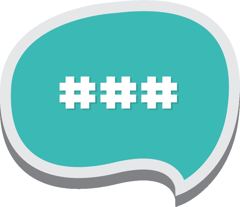 Hashtags Image