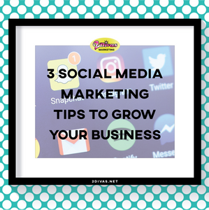 Social Media Marketing Tips Via @2DivasMarketing
