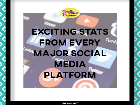 Interesting Stats From Every Social Media Platform