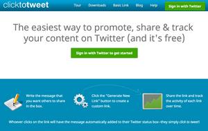 ClickToTweet Free Tool
