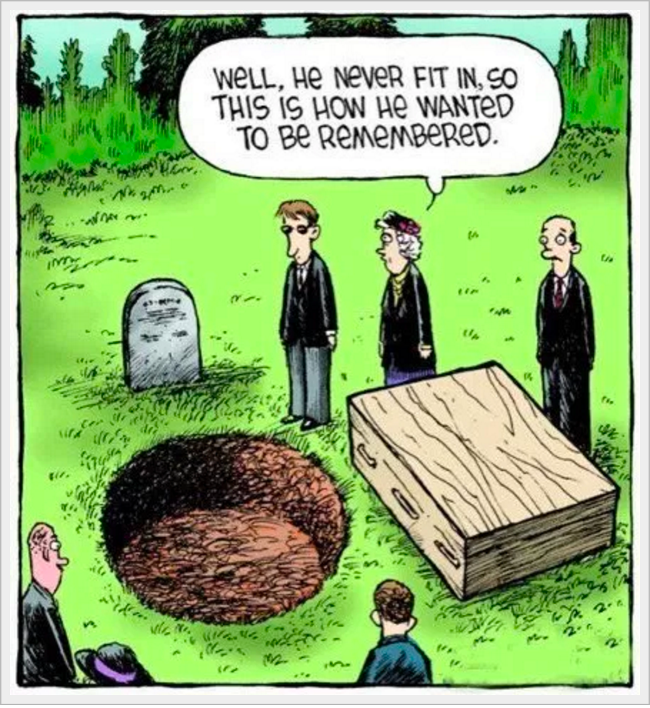Funeral and Death Humor