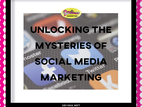 Unlocking the Mysteries of Social Media Marketing (Infographic)