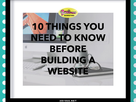 10 Things You Need To Know Before Building A Website