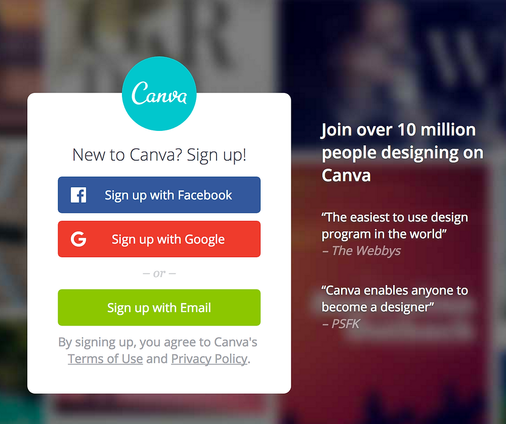 Canva Image Editing Tool