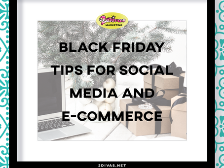Black Friday Tips for Social Media and E-Commerce