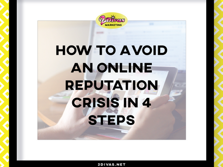 How to Avoid an Online Reputation Crisis in 4 steps